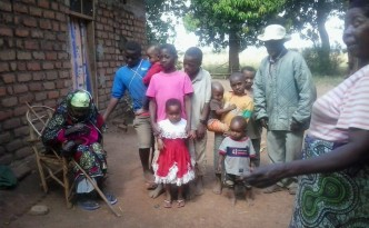 Pauli Ali Msofe family and their home