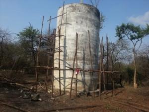 Mbwade tank before rehab.