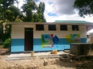 School toilet after rehabilitation
