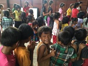 Disadvantaged children breakfast feeding program