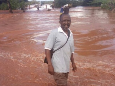 Mwangaria flooding - headmaster in Mwangaria