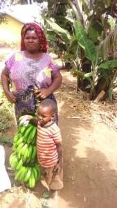 tupendane - maendeleo community purchasing bananas