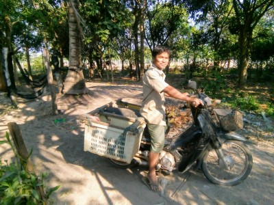 choun klein motorbike