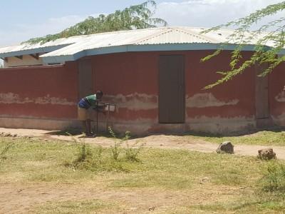 Mwala toilet