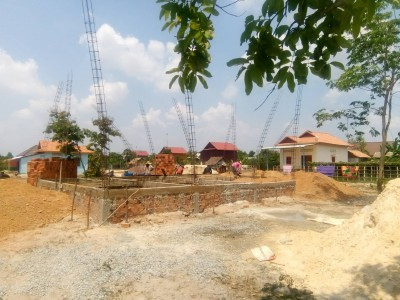 A home being constructed by Mr. NN.