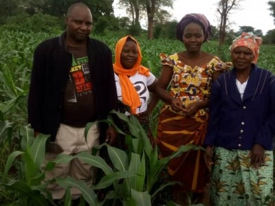 Furaha vicoba group farm